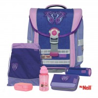 Chip Lila McNeill Ergo Light Compact Schulranzen-Set 6tlg.