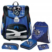 Soccer Step by Step TOUCH Schulranzen-Set 5tlg.