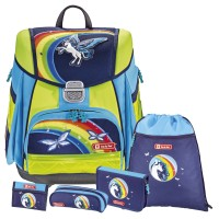 Pegasus Rainbow Step by Step TOUCH DIN LED Schulranzen-Set 5tlg.