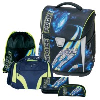 Space Fight Toolbag Basic Schulranzen-Set 5tlg. Schneiders