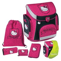Hello Kitty Campus Plus Schulranzen-Set 5tlg.
