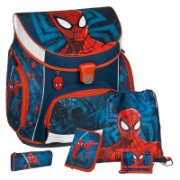 Spiderman Campus UP Schulranzen-Set 5tlg.