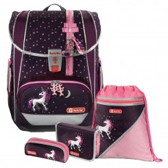 Unicorn Step by Step LIGHT 2 Schulranzen-Set 4tlg.