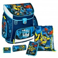 Transformers Campus UP Schulranzen-Set 5 tlg.