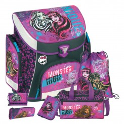 Monster High Campus Plus Schulranzen-Set 6tlg.
