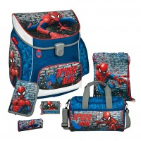 Spiderman Campus UP Schulranzen-Set 6 tlg.