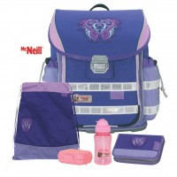 Chip Lila McNeill Ergo Light 2 Schulranzen-Set 5tlg.