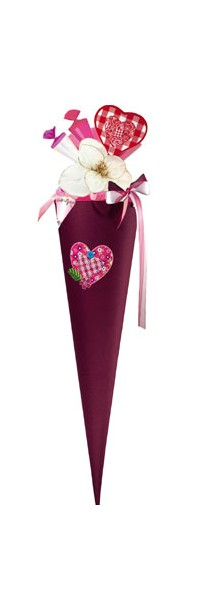 Tweedy Hearts Step by Step Schultüte