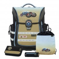 Buggy McNeill ERGO Light PURE Schulranzen-Set 4tlg.