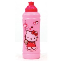 Trinkflasche Hello Kitty rosa