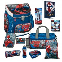 Spiderman Campus UP Schulranzen-Set 18 tlg.