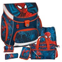 Spiderman Campus UP Schulranzen-Set 6tlg.