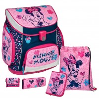 Minnie Mouse Campus UP Schulranzen-Set 5 tlg.