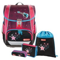 Popstar Step by Step LIGHT 2 Schulranzen-Set 4tlg.