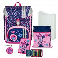 Minnie Mouse FlexMax Schulranzen-Set 5tlg.