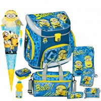 Minions Campus UP Schulranzen-Set 9 tlg.