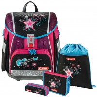 Popstar Step by Step TOUCH 2 Schulranzen-Set 4tlg.