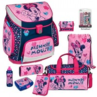 Minnie Mouse Campus UP Schulranzen-Set 14 tlg.