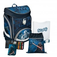 Star Wars Twixter UP Schulranzen-Set 4tlg.