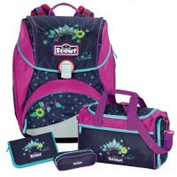 Cool Princess Scout Alpha Schulranzen-Set 4tlg.