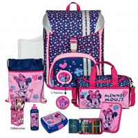 Minnie Mouse FlexMax Schulranzen-Set 14tlg.