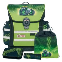 Greentrac McNeill ERGO Light 912 S Schulranzen-Set 4tlg.