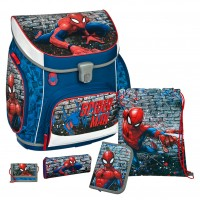 Spiderman Campus UP Schulranzen-Set 5 tlg.