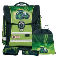 Greentrac McNeill ERGO Light COMPACT flex Schulranzen-Set 4tlg.