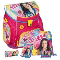 Soy Luna Campus UP Schulranzen-Set 5tlg.
