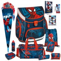 Spiderman Campus UP Schulranzen-Set 19 tlg.