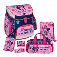 Minnie Mouse Campus UP Schulranzen-Set 6 tlg.